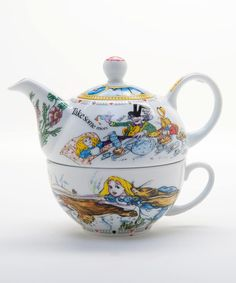 Another great find on #zulily! Alice in Wonderland Tea-for-One Set by Cardew Design #zulilyfinds