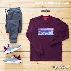 Today's top #outfitgrid is by @jaybeezishangintough. #RBW #Sweatpants #Supreme…