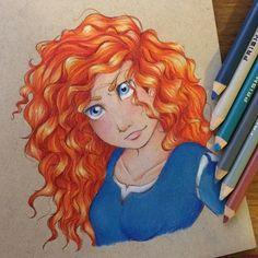 Красивейшие рисунки Дисней Принцесс Disney Fan Art, Disney Love, Merida Disney, Disney Animation, Pixar, Disney Characters, Fictional Characters, Aurora Sleeping Beauty, Disney Princess