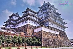 Grindles in Korea: Photography and Adventures: Himeji Castle: A Castle As White as a Heron