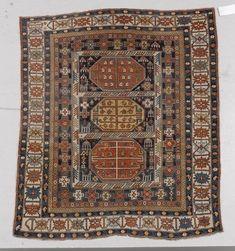 KUBA antique. 130x148 cm.