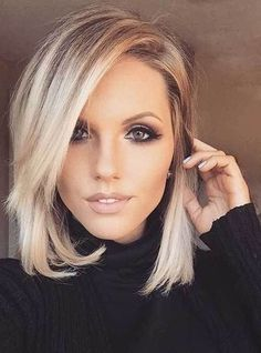 and just above the shoulders. It is a great haircut for women who don't want to cut their hair short but have desire to change their appearance. Long bob – briefly lob – hairstyles are beautiful in any texture; straight and sleek or wavy and messy. Related PostsShort Hair with Lowlights Side View 2017~ ~ … … Continue reading →