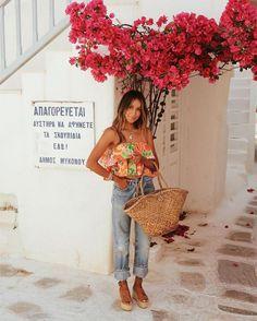 Estilo Floral, Estilo Boho Chic, Spring Summer Fashion, Spring Outfits, Estilo Olivia Palermo, Moda Outfits, Casual, Girl Fashion, Vogue
