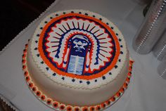 "Zach's ""Go Illini"" Groom's cake"