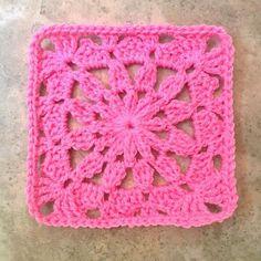 Transcendent Crochet a Solid Granny Square Ideas. Inconceivable Crochet a Solid Granny Square Ideas. Crochet Bedspread Pattern, Crotchet Patterns, Crochet Square Patterns, Crochet Blocks, Doily Patterns, Crochet Squares, Crochet Blanket Patterns, Quilting Patterns, Vogue Patterns