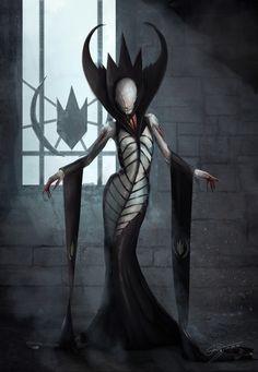 Drawing Woman ArtStation - Demon Queen, Ilona Mencner - LL cool R - Dark Fantasy Art, Fantasy Kunst, Dark Art, Fantasy Demon, Arte Horror, Horror Art, Medieval Combat, Art Sinistre, Airbrush Art