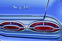 1962 Oldsmobile 98 Taillights Photograph by Jill Reger - 1962 Oldsmobile 98 Taillights Fine Art Prints and Posters for Sale