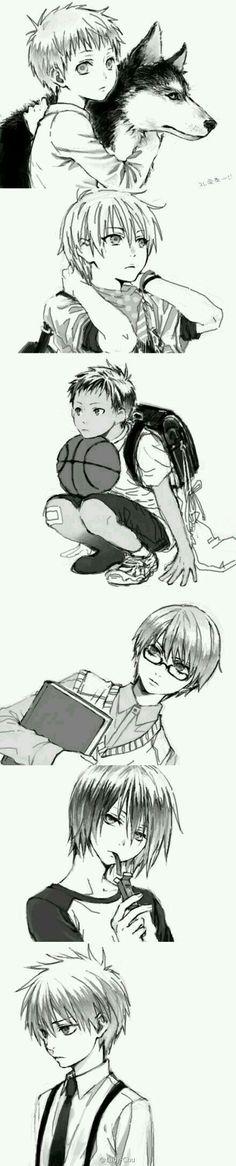 Anime: Kuroko No Basuke The Generation of Miracles as elementary school kids. Anime Boys, Anime Child, Me Anime, I Love Anime, Manga Anime, Anime Art, Kuroko No Basket, Aomine Kuroko, Kagami Taiga