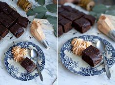Brownie aux patates douces et chocolat noir