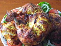 One Mother Hen: Tandoori Chicken Kitchen Recipes, Tandoori Chicken, Chicken Recipes, Pork, Meat, Kitchens, Kale Stir Fry, Pork Chops