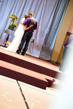 #Coloradowedding #purpleandyellowwedding #diywedding #affordablewedding