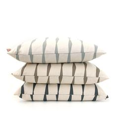 Cushion cover 50x50cm  Brancusi Stripe by skinnylaminx on Etsy, $39.00