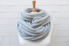 I can't get enough of these cowls.  I want heaps in all different colours and patterns!