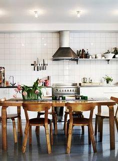 For the Home Kitchen Decoration skull kitchen decor Kitchen Dinning, Dining Area, Kitchen Decor, Dining Room, Dining Chairs, Kitchen Wood, Kitchen White, Kitchen Ideas, Home Interior