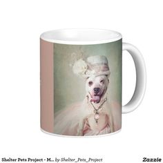 Shelter Pets Project - McKenzie Coffee Mug - Purchase of this product will supply much needed dog food and medicine for the animals at Union County Animal Protection Society (UCAPS).
