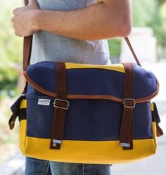 Sure, a bag will hold your stuff, but why stop there? Enter the Chromonaut Camera Bag, a roomy, high-quality handmade camera bag with a sharp vintage look. $215