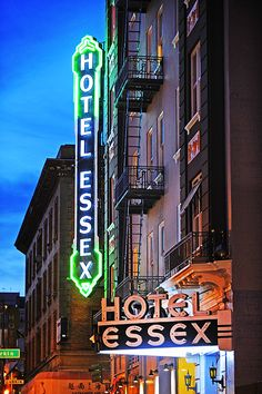 Hotel Essex in the Tenderloin District, San Francisco  www.mitchellfunk.com