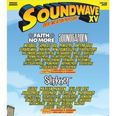 Sup Slipknot. →This Wild Life← playing @soundwavefest 2015! See you next year Australia!
