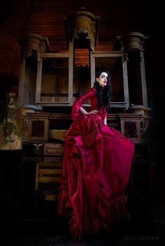 Gothic Charm School: pretty things • Red dresses. YES.