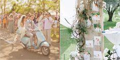 7 detalles para la decoración de bodas vintage