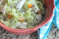 9. Chicken [Zucchini] Noodle Soup | 25 Healthy Meals You Can Make With A Spiralizer