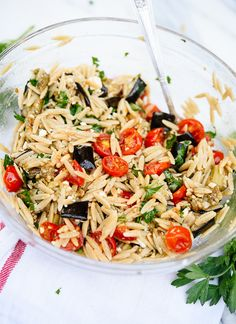 Roasted eggplant and tomato pasta recipe - cookieandkate.com