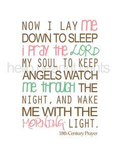 Our bedtime prayer <3