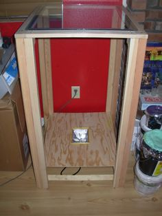 DIY exposure unit and screen drying box - T-Shirt Forums