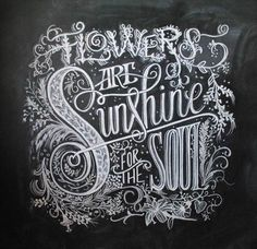 Flowers are #sunshine for the #soul.