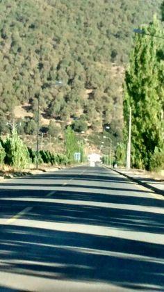 Entrada al Pueblo de Lonquimay....