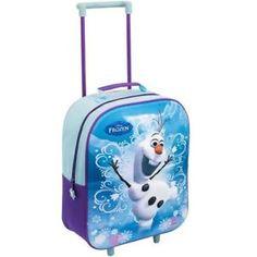03f45792c disney frozen olaf 3d muneco de nieve de viaje de vacaciones escolares  trolley maleta con ruedas bolso