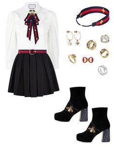 Kpop Fashion Outfits, Ulzzang Fashion, Stage Outfits, Korean Fashion, Girl Outfits, Fashion Dresses, Classy Outfits, Stylish Outfits, Polyvore Outfits