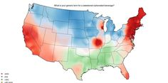 In a series of maps originally published by Josh Katz, take a look at the regional accents that make American English so interesting.