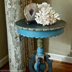 Aubusson, Olive, Coco & Graphite in Chalk Paint® by Annie Sloan.