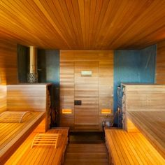 Do you want to create fabulous home sauna design ideas as your home design ideas? Creating a fabulous home sauna sounds great. In addition to making aesthetics in your home, a home sauna is very suitable for you to choose… Continue Reading → Hudson Valley, Beautiful Home Designs, Beautiful Homes, Sauna Diy, Sauna Ideas, Design Sauna, Gym Design, Modern Saunas, Wooden Room