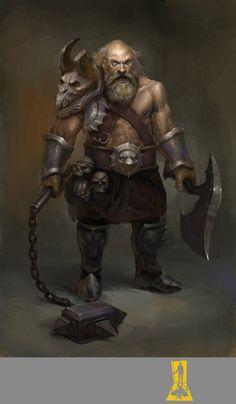 Grey Dwarf Reaper