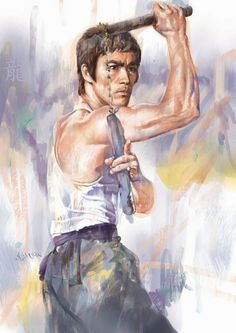 Bruce Lee Online Gallery / The Art of Martial Arts Brandon Lee, Arte Bruce Lee, Bruce Lee Poster, Bruce Lee Photos, Martial Arts Movies, Martial Artists, Brice Lee, Artiste Martial, Bruce Lee Martial Arts