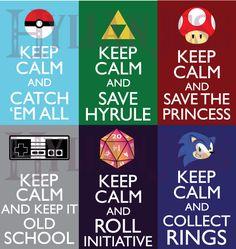 Keep Calm Fandom Badges: Gaming by HylianJess.deviantart.com  ¿Que les parece mi nuevo poster motivacional?