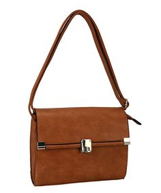 Diophy Brown Crossbody Bag by Diophy #zulily #zulilyfinds
