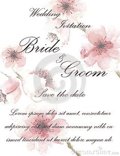 Illustration about Wedding invitation card with flowers, and dividers, ideal for weddings. Pink and grey colors. Illustration of leafs, texture, spring - 111707442 Grey Colors, Wedding Invitation Cards, Dividers, Pink Grey, Bride Groom, Place Card Holders, Weddings, Texture, Illustration