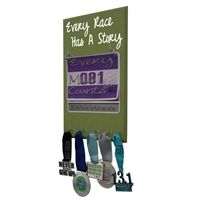 Use our running medal holder to display all your race medals. We offer a huge variety of medal hanger with running quotes for women and men. Our medal displays are the most acclaim on the web. Starting at$24.99 only.