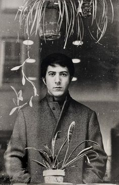 A great shot of Dustin Hoffman, and being that it's circa The Graduate, I am thusly in love with it.