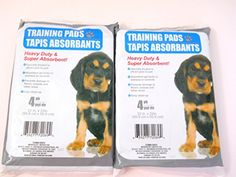 New Set of 2 Packages Puppy Dog Training Pads Each 4 Piec…