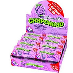 Grapeheads Candy