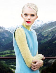 Isa Asklof for Elle Ukraine January 2012