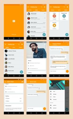 Android Material UI Template 2.1 by dream_space | CodeCanyon