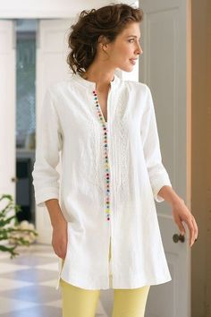 ladies kurtis, printed kurtis, kurti design girl@ http://ladyindia.com