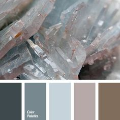 Pastel tones in a gray gamma with a warm touch of smoky brown. This combination of colours is suitable for interior and furniture in the industrial style,.: