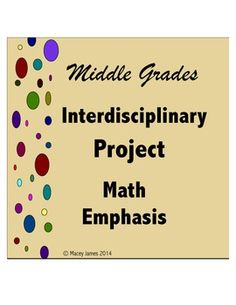 This interdisciplinary project has a strong math component. It is often difficult to create a project-based unit that utilizes math in a meaningful way at the upper elementary and middle school levels. This project was designed to allow students to make use of a variety of math skills while including aspects from different disciplines.$