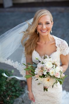 0ba3a62e4104 Real Bride Leah — House of White Bridal Salon - Newburgh | Evansville |  Owensboro | Wedding Dresses